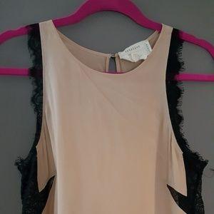 Nicole Miller designer silk top